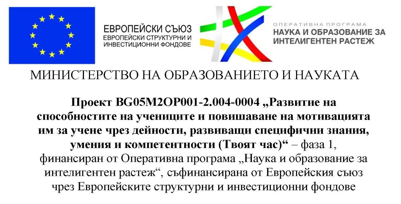 Лого-ТВОЯТ ЧАС